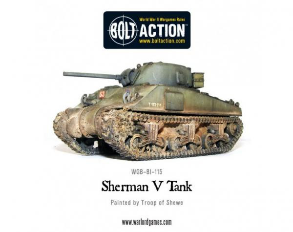 Bolt Action: British: Sherman V Tank