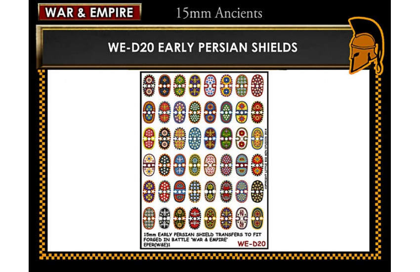 Shield Transfers: Early Persian shields