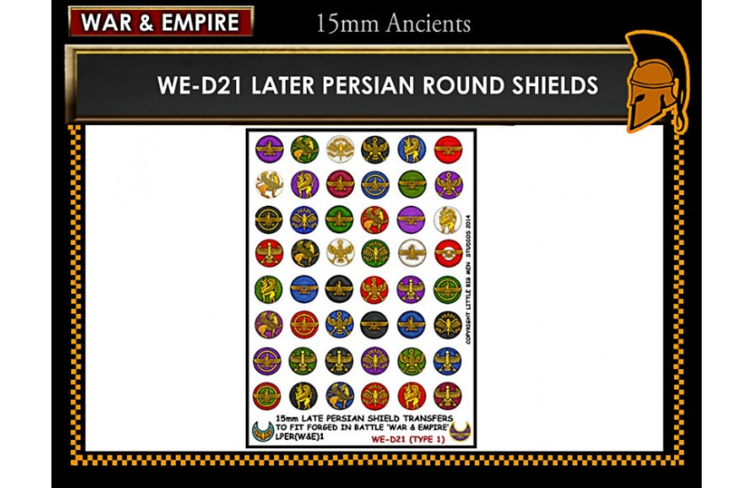 Shield Transfers: Late Persian shields