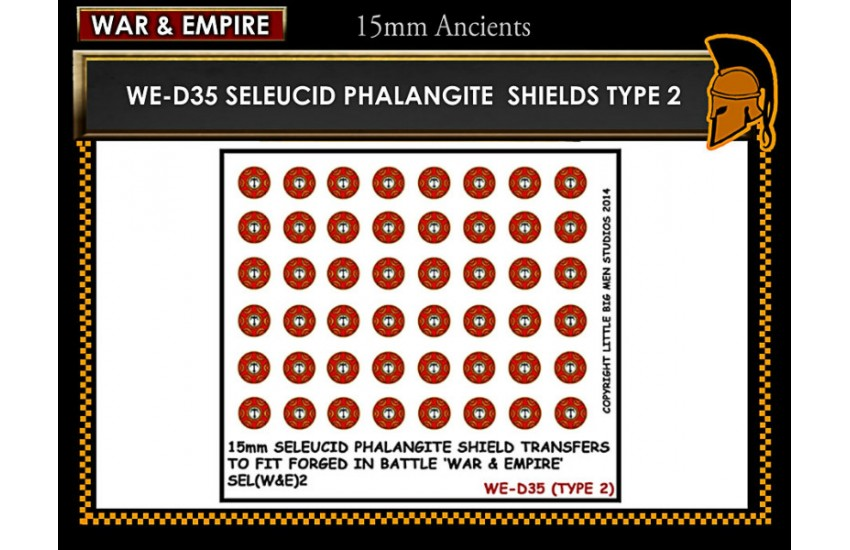 Shield Transfers: Seleucid Phalangite shield TYPE 2