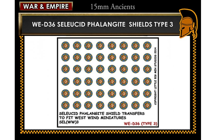 Shield Transfers: Seleucid Phalangite shield TYPE 3