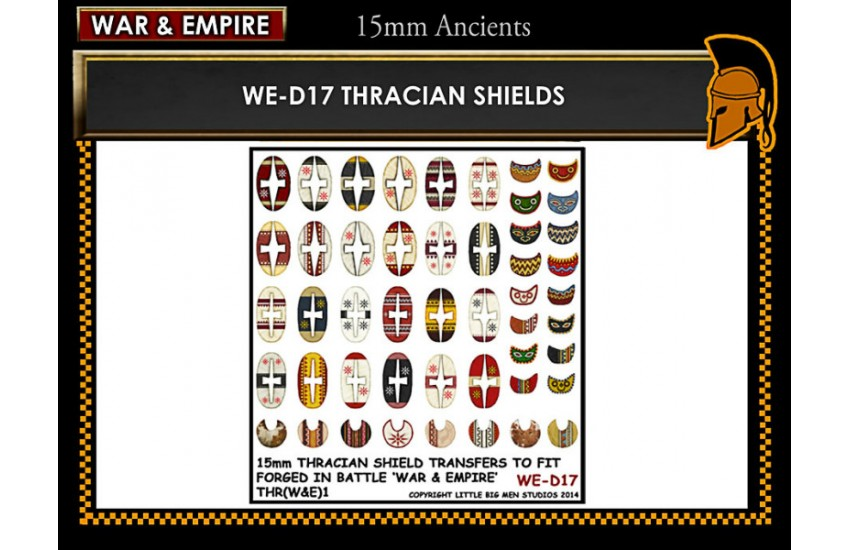 Shield Transfers: Thracian shields