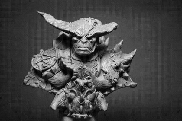 Shieldwolf Busts: Daemon Warrior