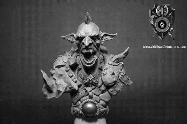 Shieldwolf Busts: Goblin Warrior