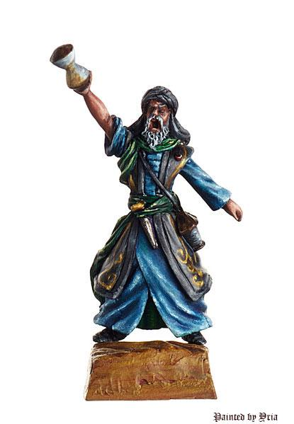 Shieldwolf Miniatures: Araves- Sorcerer (B)