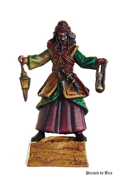 Shieldwolf Miniatures: Araves- Sorcerer