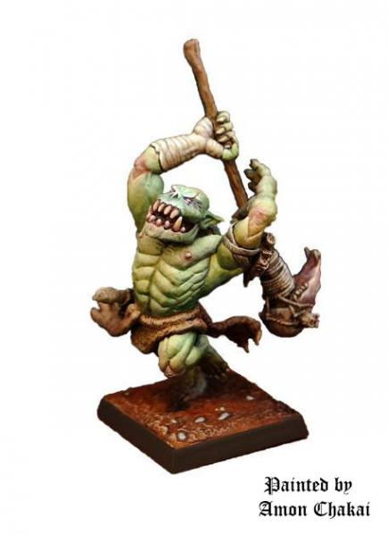 Shieldwolf Miniatures: Mountain Orcs- Hero (A)