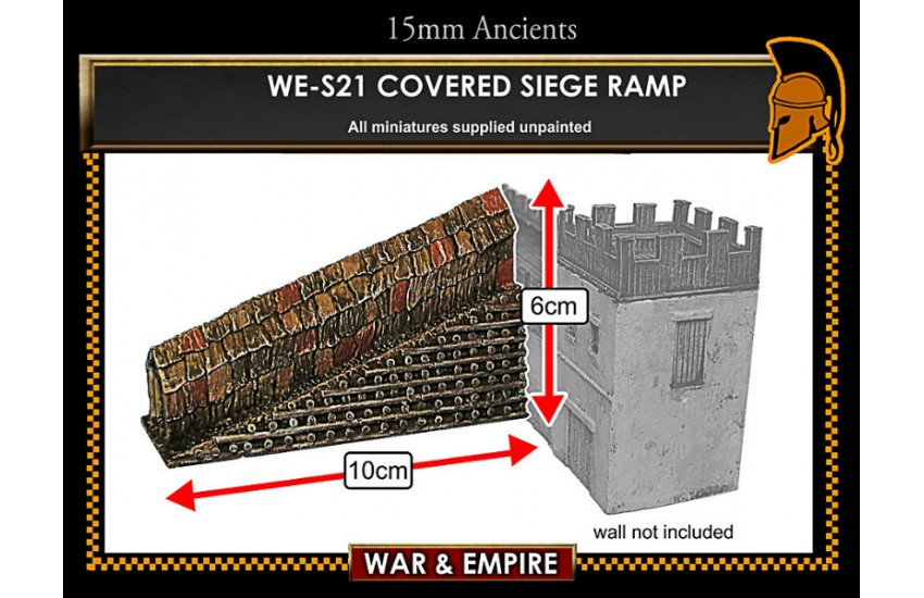 Siege Equipment: Covered siege ramp
