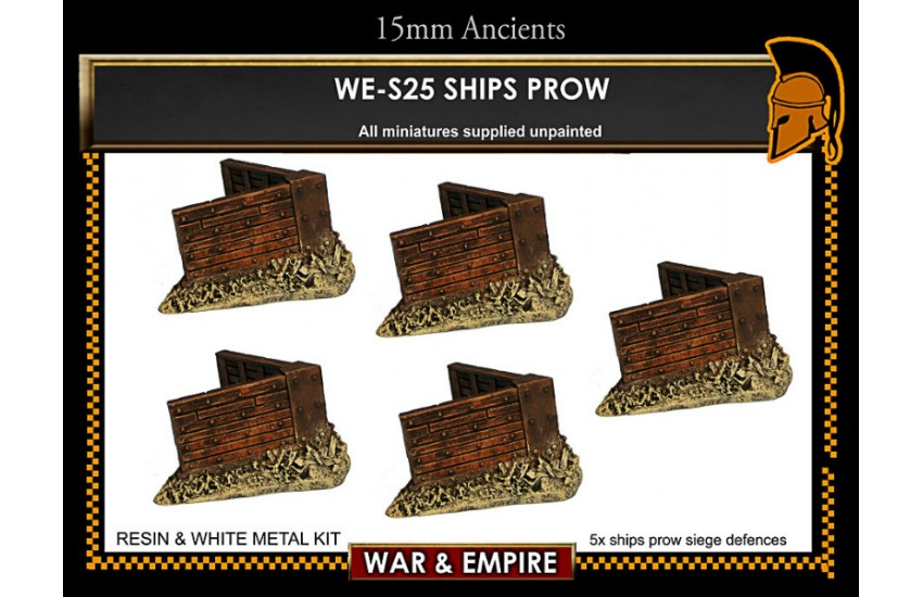 Siege Equipment: Ships prows siege works