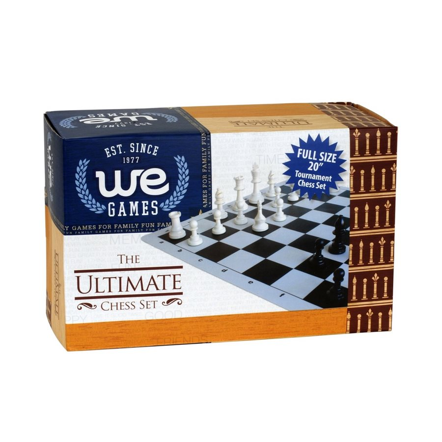 Silicone Ultimate Tournament Chess Set - Green