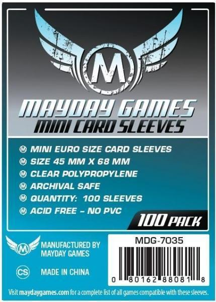 Mayday: Silver Label: Mini Euro Sleeves