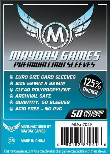 Mayday: Silver Label: Premium Euro Sleeves