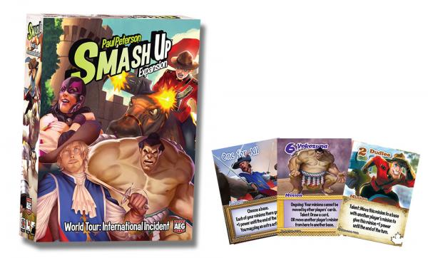 Smash Up! World Tour: International Incident