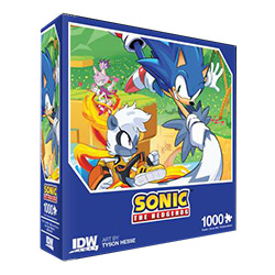 Sonic The Hedgehog: Too Slow! Premium Puzzle 1000PC