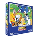 Sonic The Hedgehog: Too Slow! Premium Puzzle 1000PC [Damaged]
