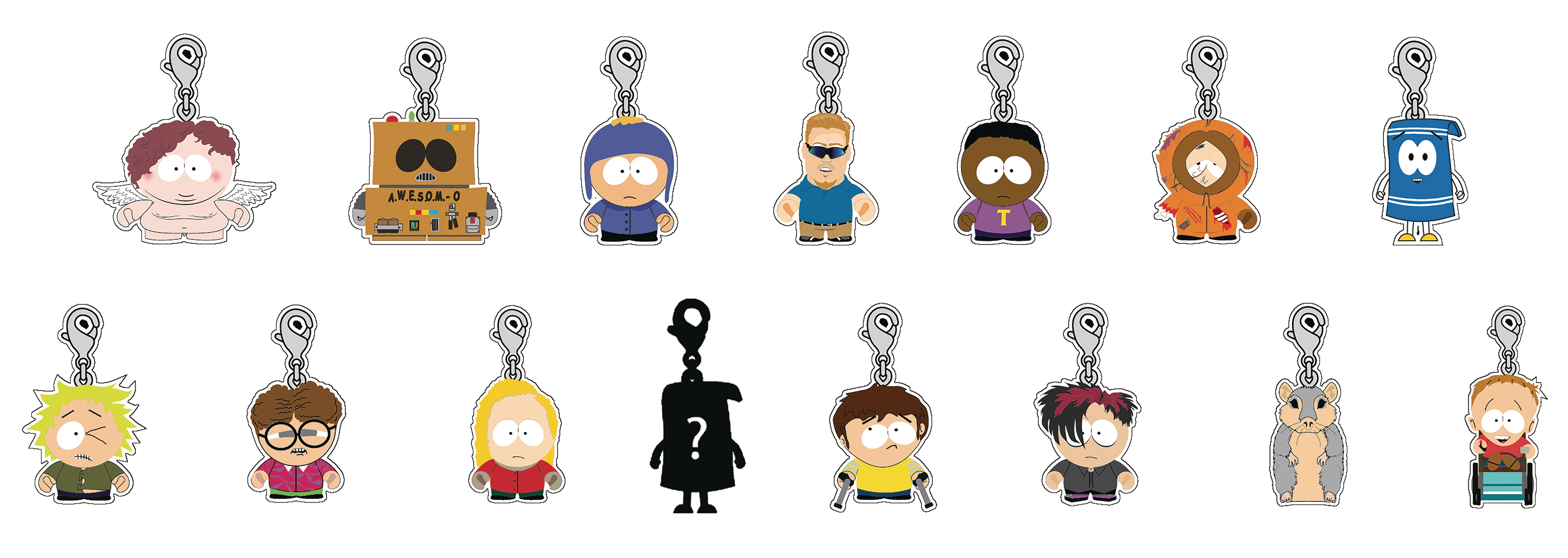 South Park: Zipper Pull- Blind Pack