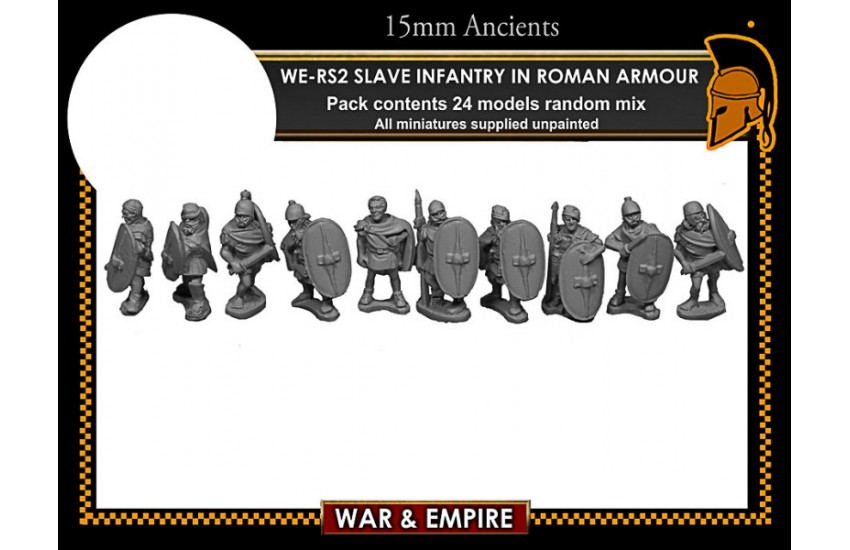 Spartacus: Slave Infantry, in Roman armour