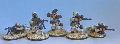 Black Scorpion Miniatures: Special Weapons Team