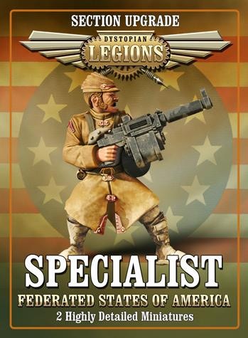 Dystopian Legions: Federated States of America: Specialist [SALE]