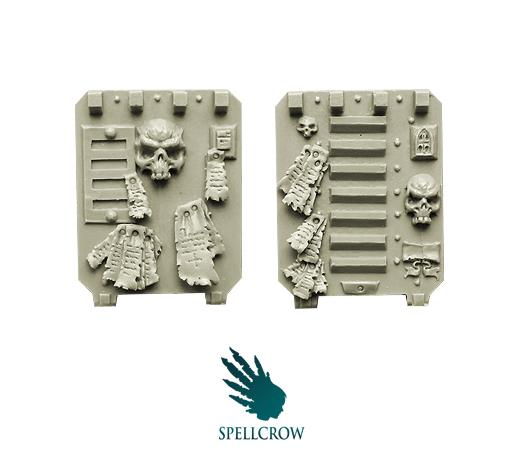 Spellcrow Conversion Bits: Space Knights Doors for Light Vehicles