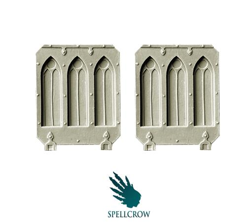 Spellcrow Conversion Bits: Space Knights Gothic Doors for Light Vehicles