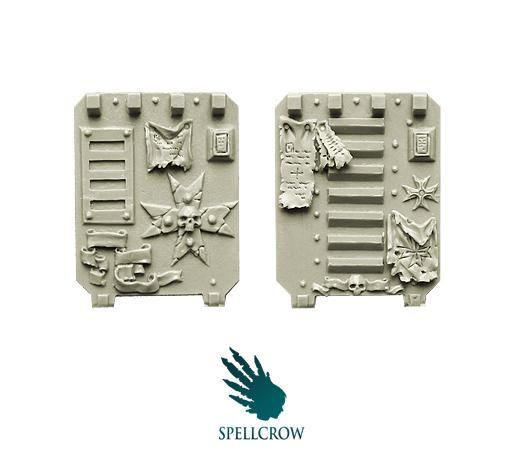 Spellcrow Conversion Bits: Templars Space Knights- Door for Light Vehicles