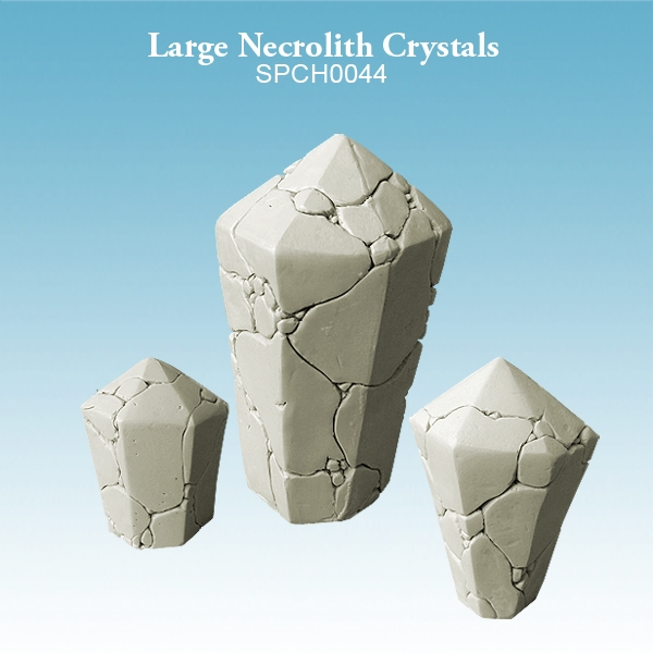 Spellcrow Miniatures: Large Necrolith Crystals