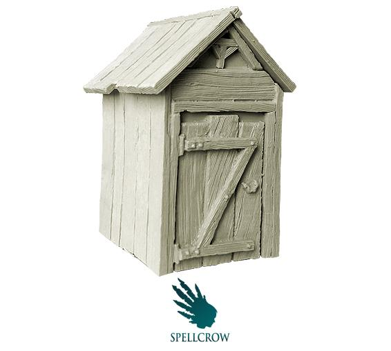 Spellcrow Miniatures: Luxury Privy