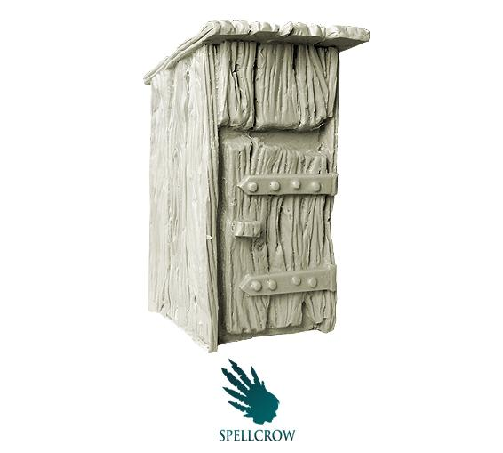 Spellcrow Miniatures: Old Privy