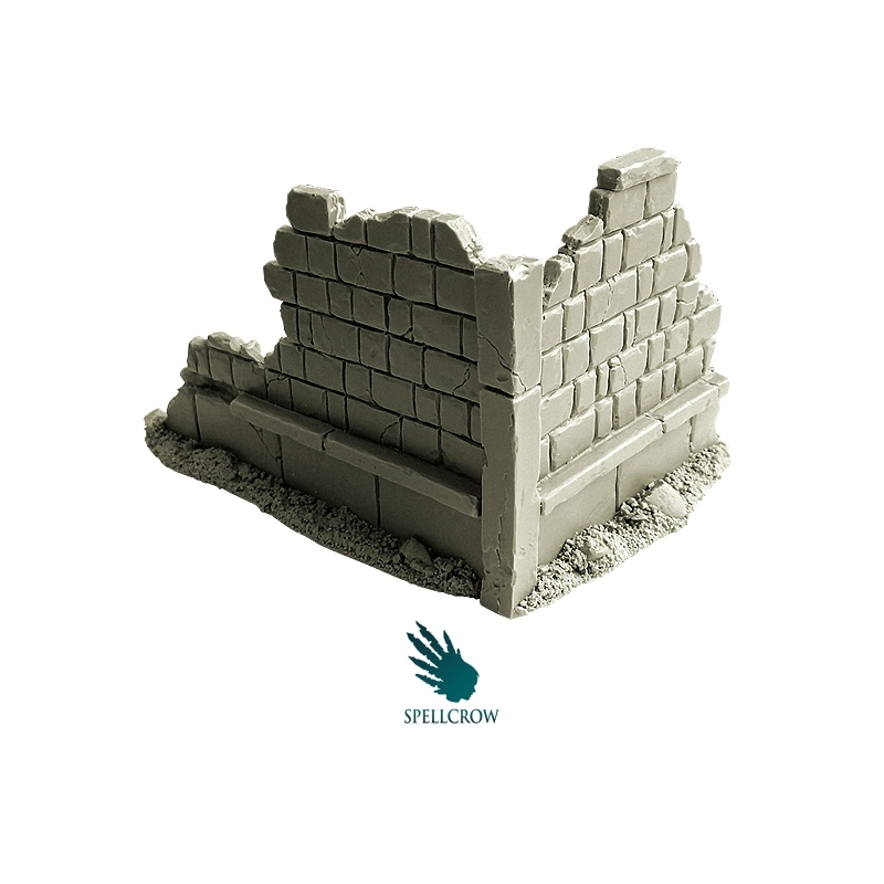 Spellcrow Miniatures: Ruined Building