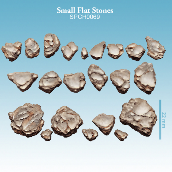 Spellcrow Miniatures: Small Flat Stones
