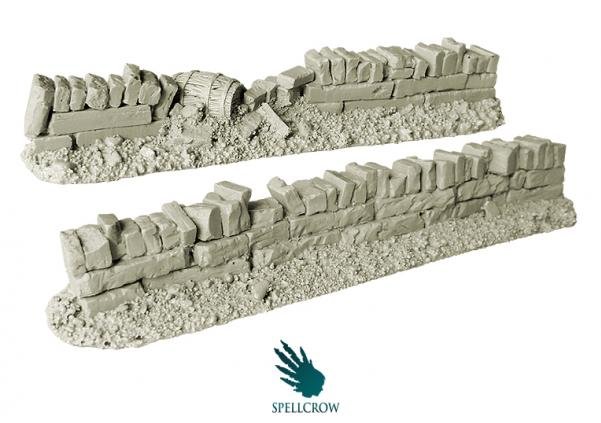 Spellcrow Miniatures: Stone Fences