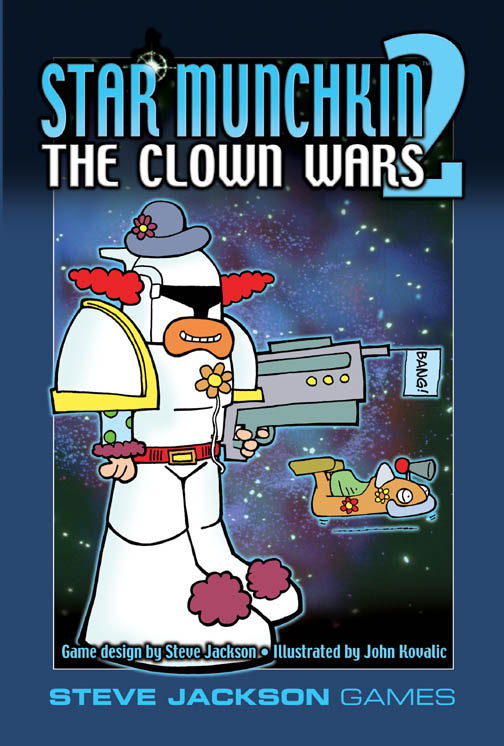 Star Munchkin 2: The Clown Wars (Revised)