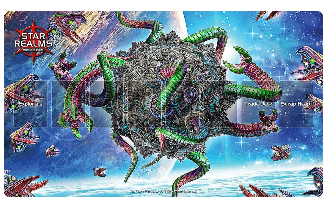 Star Realms: PLAYMAT INFESTED MOON