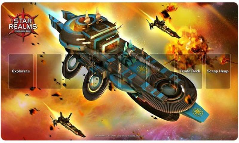 Star Realms: PLAYMAT LIGHT CRUISER