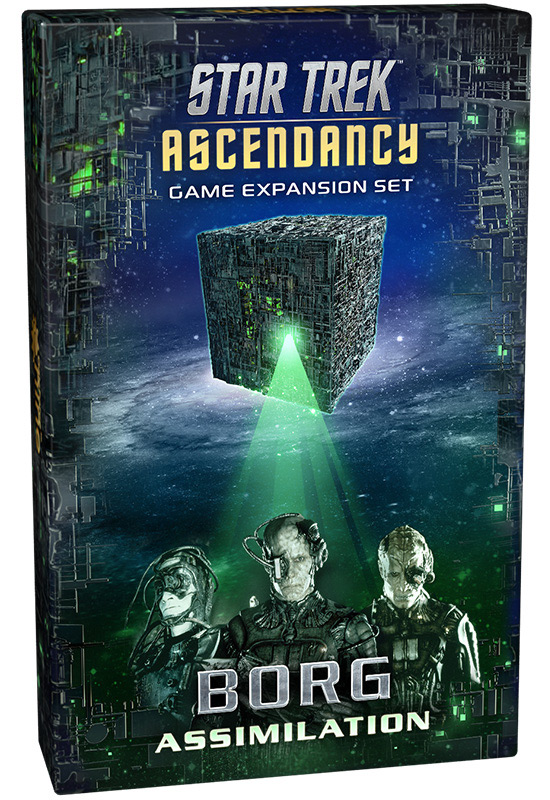 Star Trek Ascendancy: Borg Assimilation [Damaged]
