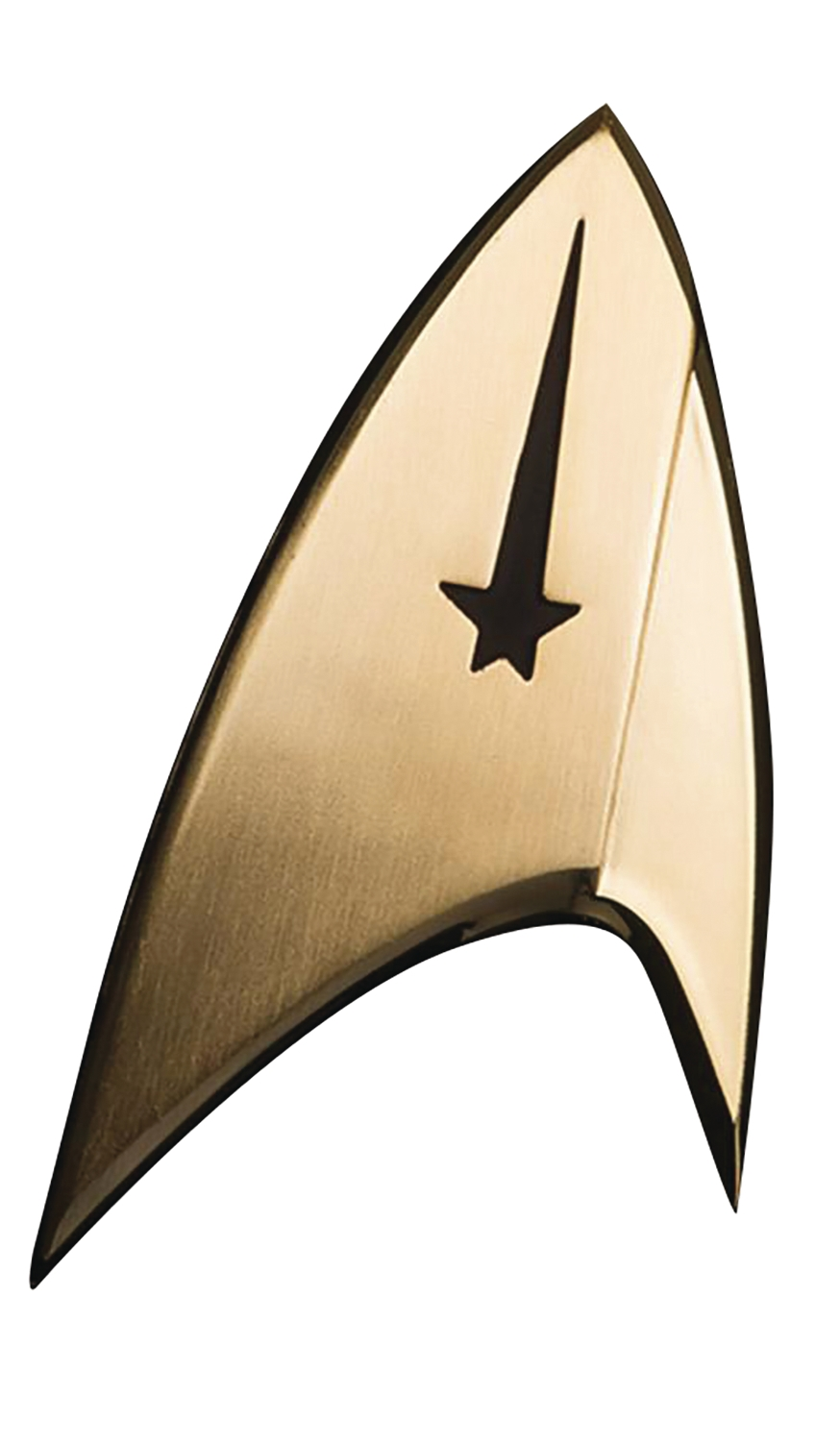 Star Trek Discovery: Insignia Badge- Command