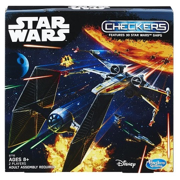 Star Wars 3D checkers