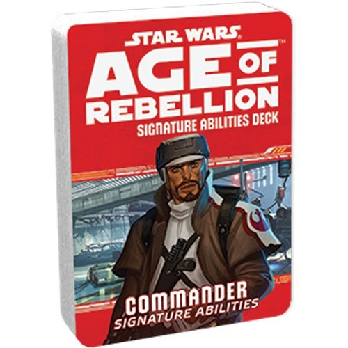 Star Wars Age of Rebellion: Commander Abilities Deck