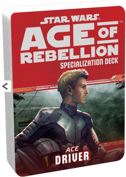 Star Wars Age of Rebellion: Specialization Deck- Ace Driver