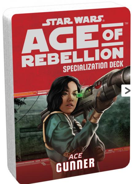 Star Wars Age of Rebellion: Specialization Deck- Ace Gunner
