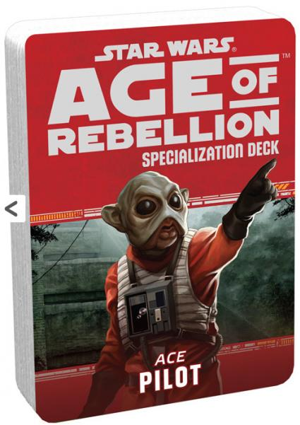Star Wars Age of Rebellion: Specialization Deck- Ace Pilot