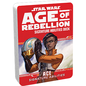 Star Wars Age of Rebellion: Signature Abilities Deck- Ace
