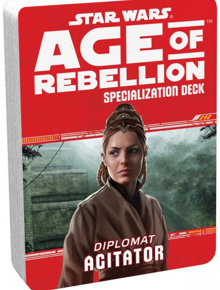 Star Wars Age of Rebellion: Specialization Deck- Diplomat Agitator