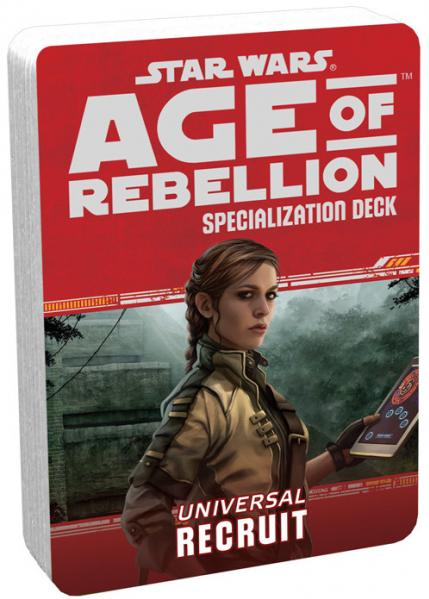 Star Wars Age of Rebellion: Specialization Deck- Universal Recruit