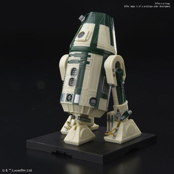 Bandai - Star Wars Bandai Kit: 1/12 R4-M9 #5057845 [4573102578457]