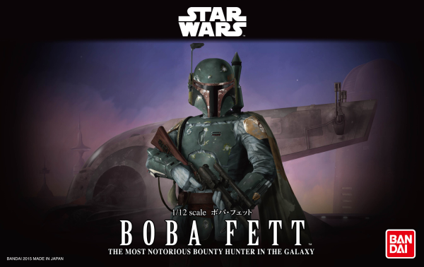 Star Wars Bandai Model Kit: BOBA FETT (1/12)