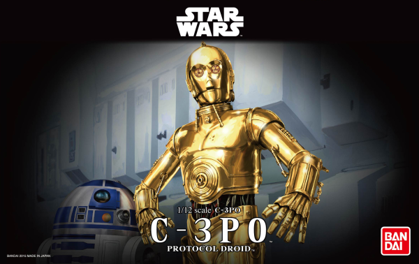 Star Wars Bandai Model Kit: C-3PO (1/12)