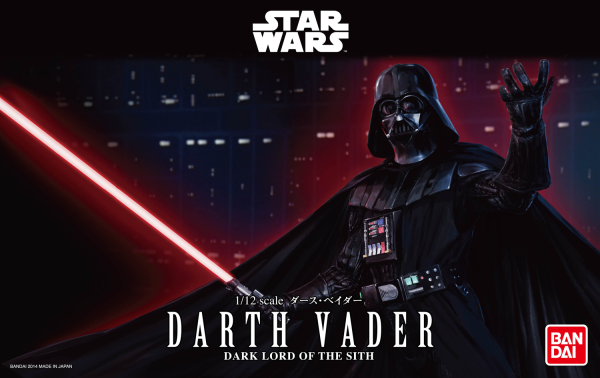 Star Wars Bandai Model Kit: DARTH VADER (1/12)