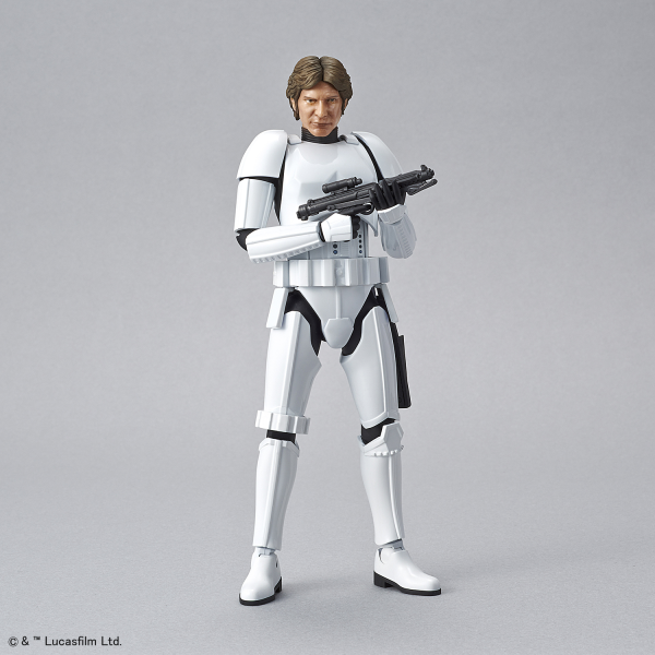 Star Wars Bandai Model Kit: HAN SOLO STORMTROOPER Ver. (1/12)